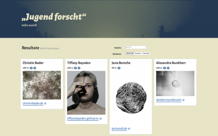 jugend-forscht-website-screenshot